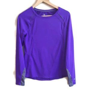 PURE NRG | athletics purple sport shirt